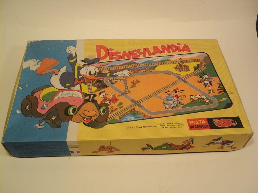 Rare Jouet Train Disneylandia Donald Dingo Mickey Disney. 50 Loches (37)