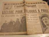 rare journal l intransigeant n° special 30 Alès (30)