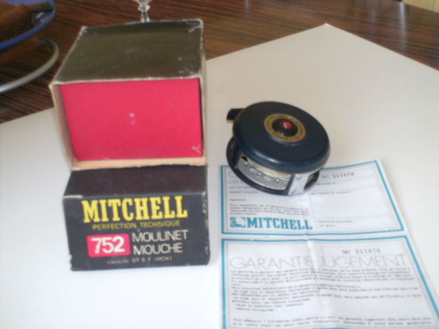 rare moulinet mouche 752 mitchell Sports