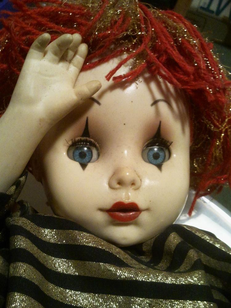 Rare poupée CLOWN EFFE 0 Pringy (77)