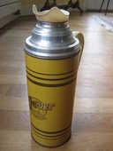 Rare thermos métal TRA-VER vintage 30 Nyons (26)