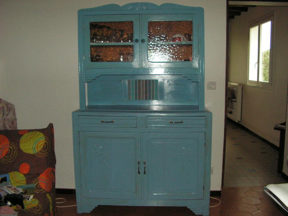 rare et unique ensemble de meuble bleu 0 Monségur (40)