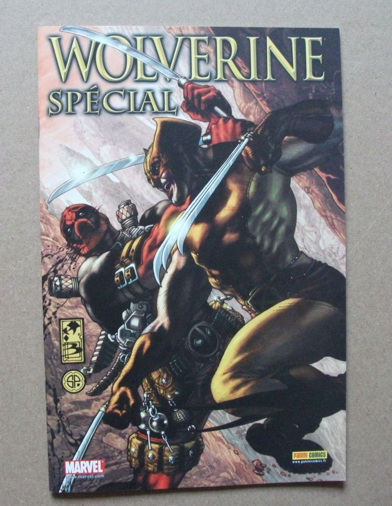 B.D. RARE Wolverine Spécial [Panini 2009] 15 Castelnaudary (11)