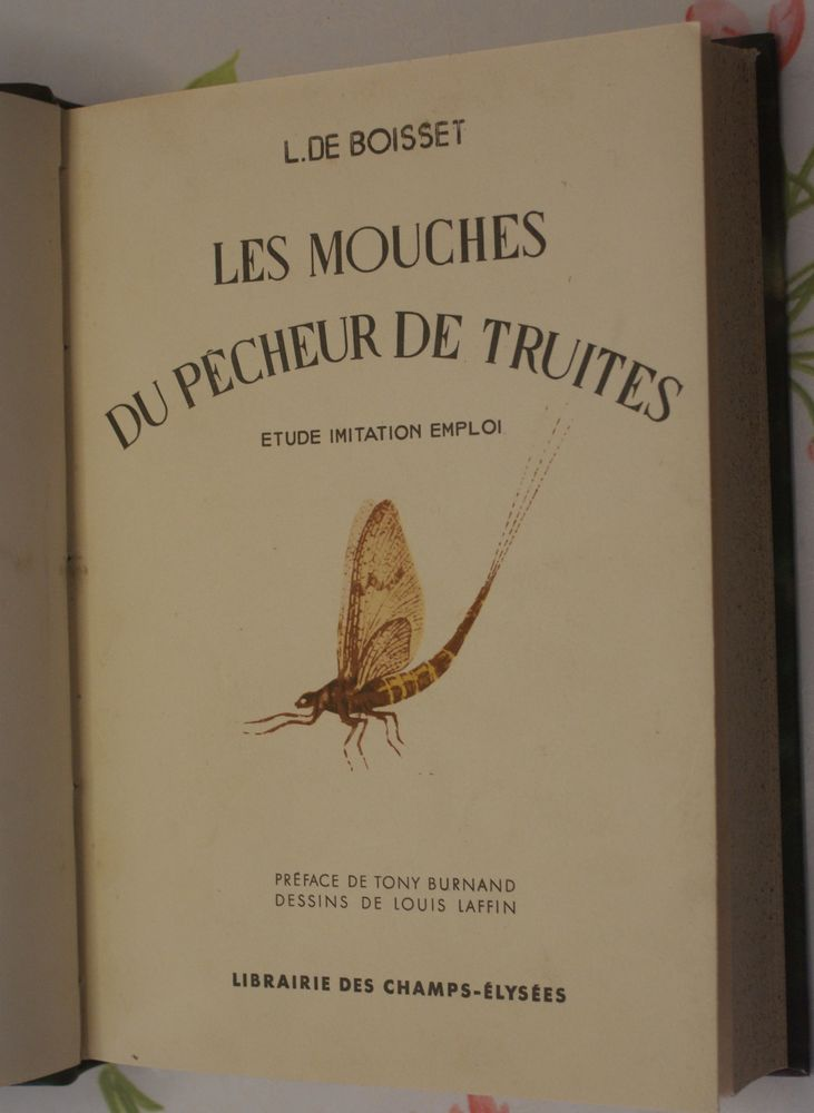 3 RARES  livres de pêche 20 Montcy-Notre-Dame (08)