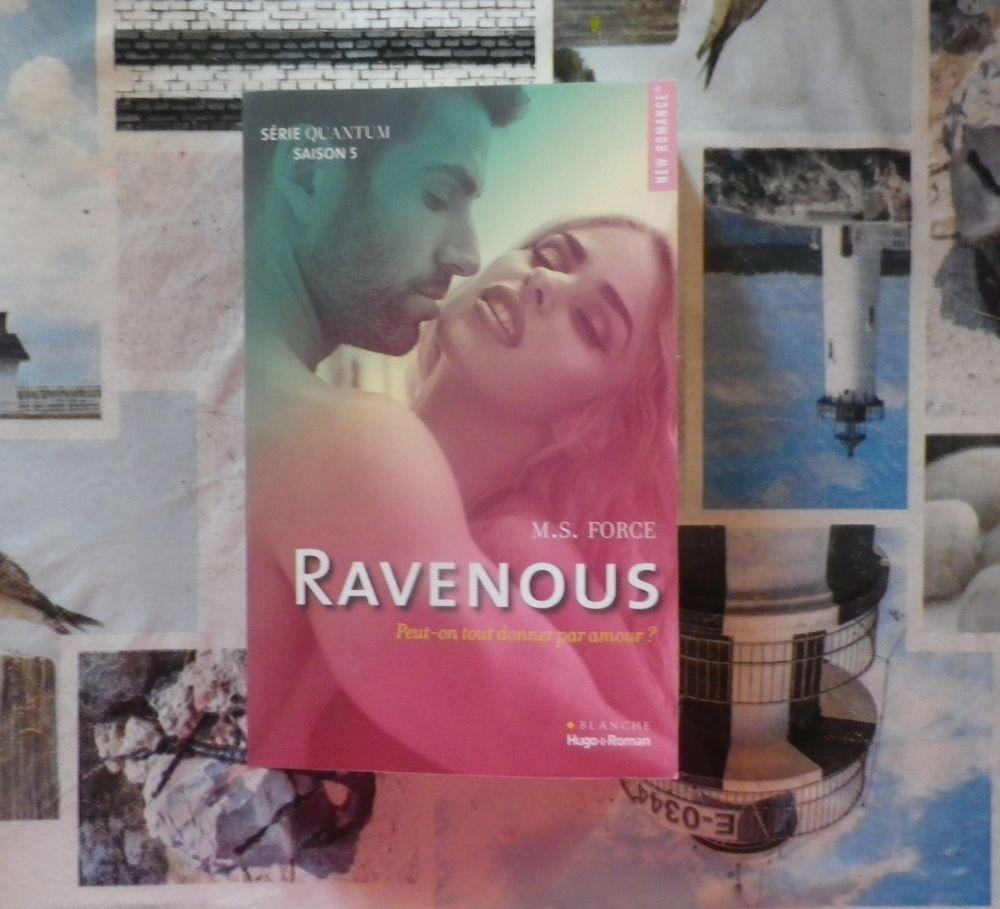 RAVENOUS Série QUANTUM Saison 5 Hugo Blanche New Romance 8 Bubry (56)