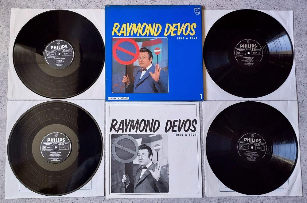 RAYMOND DEVOS -COFFRET 4 x LP- 1956 à 1971 - LA MER DÉMONTÉE 12 Tourcoing (59)