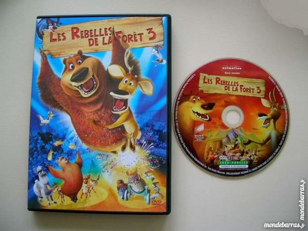 Dvd Les Rebelles De La Foret 3 Dessin Animé