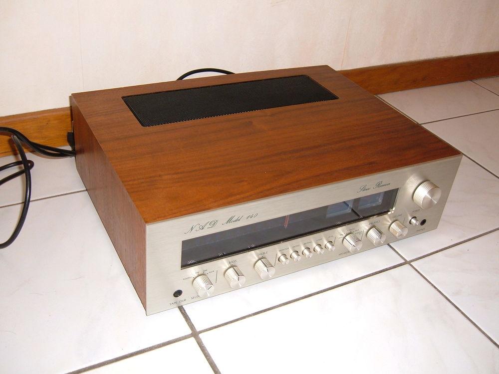 NAD receiver model 140 vintage 70' & scott 636s 149 Marckolsheim (67)