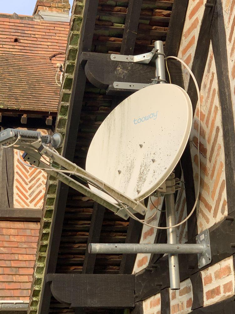 Kit réception internet par satellite avec parabole Tooway 40 Ardon (45)