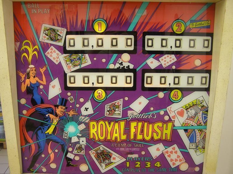 recherche flipper royale flush 700 Charleville-Mézières (08)