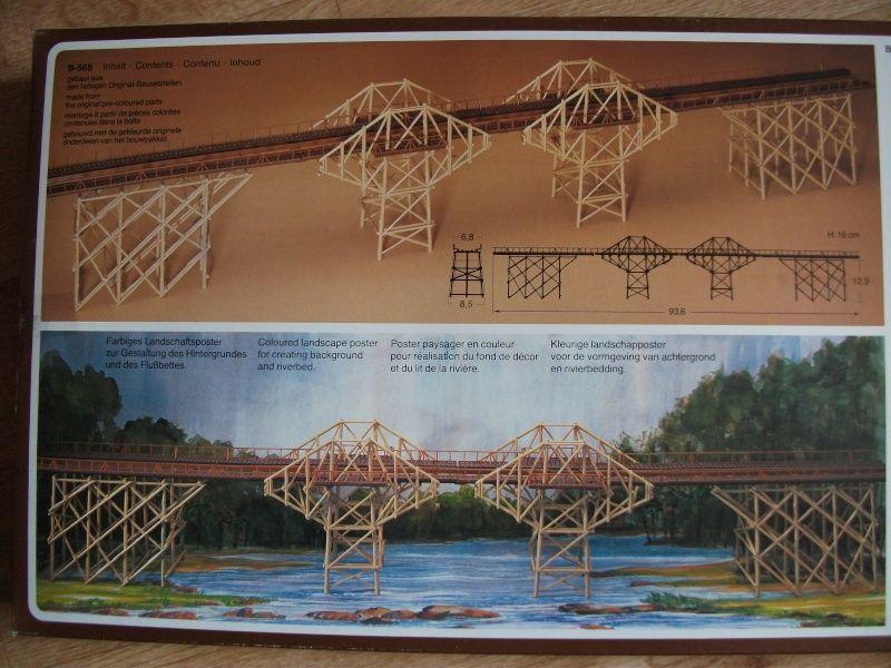 recherche notice pont de la rivière kwai  de chez faller 5 Warcq (08)