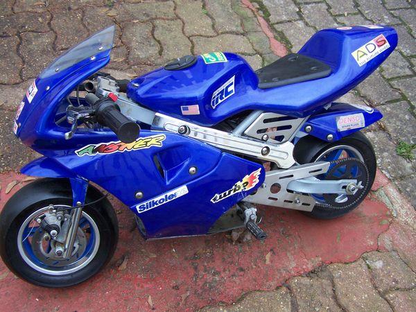 recherche pocket bike a restaurer  pour deco de garage. 0 Alençon (61)