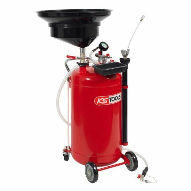 Récupérateur d'huile par gravité et aspiration 90 L KS TOOLS 350 Vannes (56)