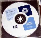 Cd de récupération données HP 4 Versailles (78)
