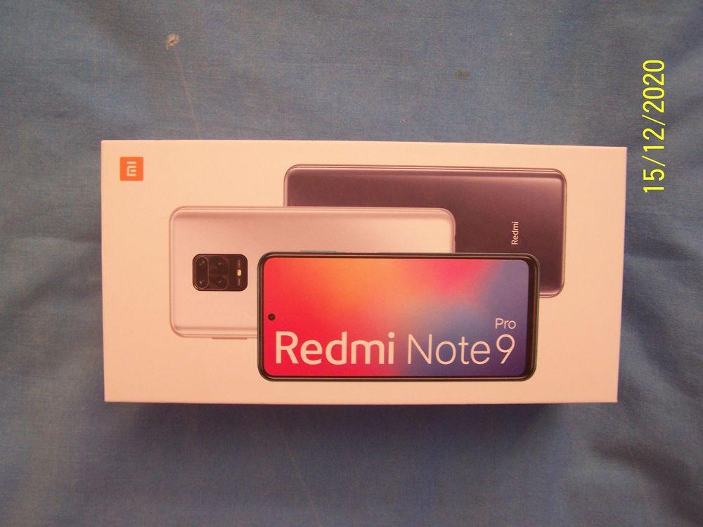 Redmi Note 9 Pro Interstellar Grey neuf 299 Issy-les-Moulineaux (92)