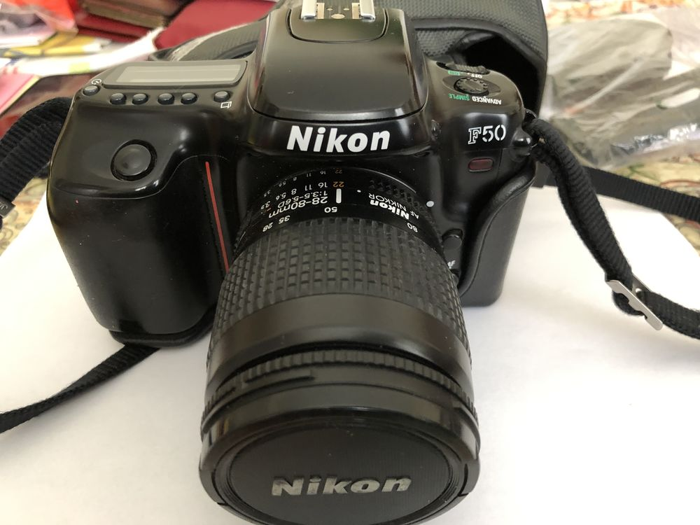 Reflex argentique Nikon F50 100 Ivry-sur-Seine (94)