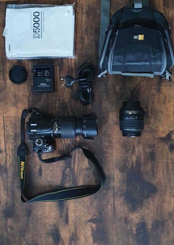 Reflex Nikon D5000 + 2 Objectifs 350 Boulogne-Billancourt (92)