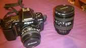 Reflex Nikon F801s - 2 objectifs (NIKKOR) 700 Pontoise (95)