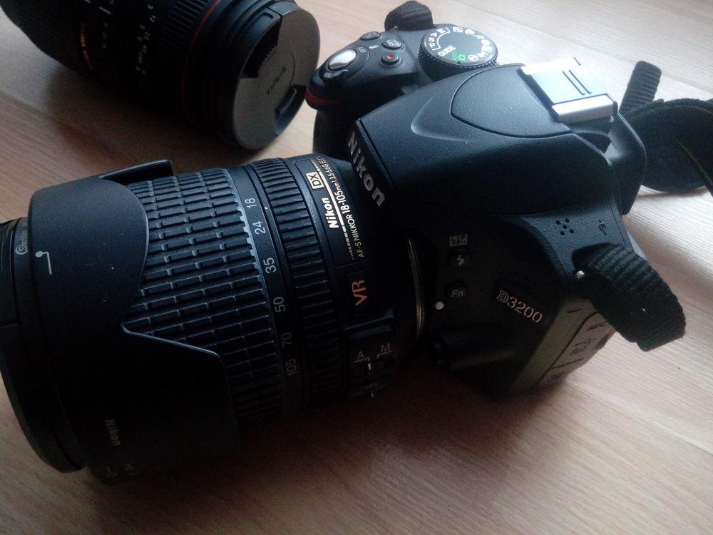 Réflexe Nikon D3200 + 2 objectifs 400 Reims (51)