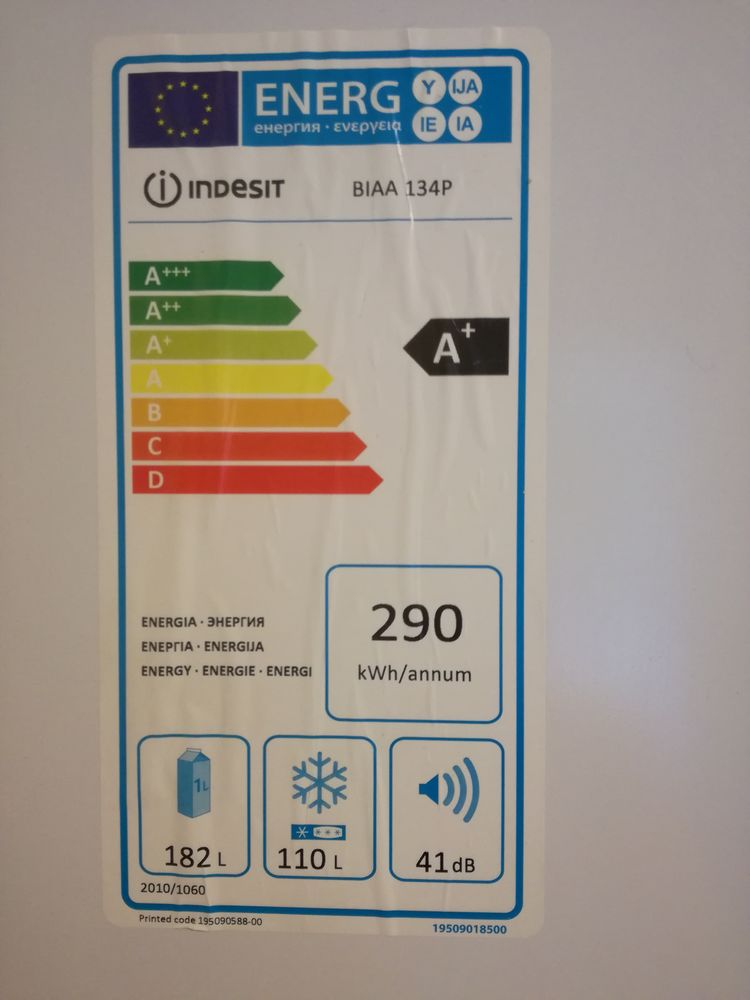 Réfrigérateur Congélateur Indesit BIAA 134P 200 La Ciotat (13)