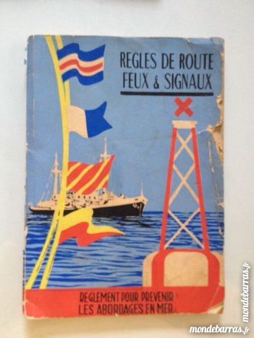 Règles de routes feux et signaux de 1960 8 Nice (06)