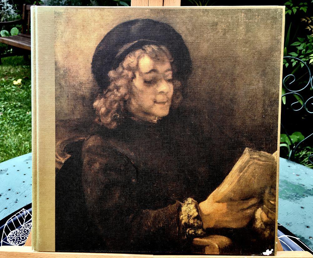 REMBRANDT; Beau grand livre d'art relié de 145 pages,TB état 30 L'Isle-Jourdain (32)