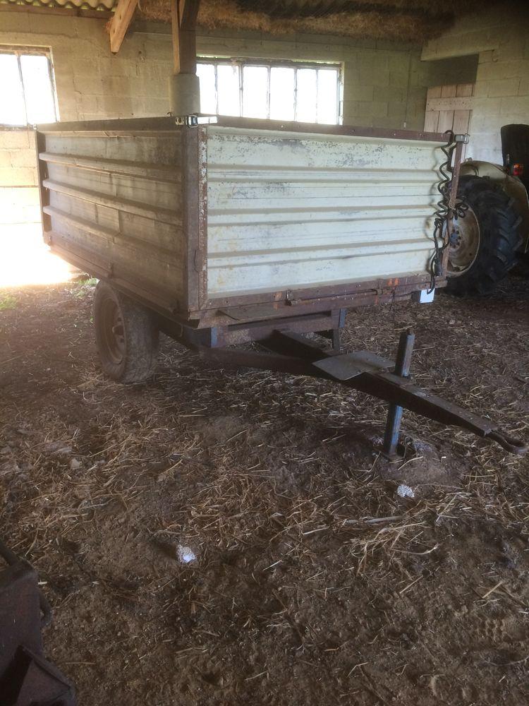 Remorque 2 roues  à usage agricole 500 Allériot (71)
