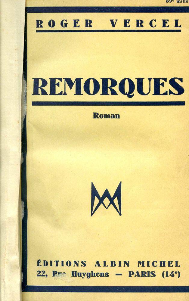 REMORQUES -Roger Vercel, 10 Rennes (35)