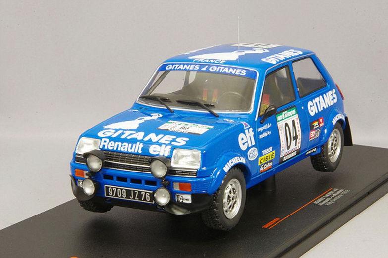 Renault-5-Alpine-No-4-Gitanes-Rallye-Bandama-J-Ragnotti-J-M 60 Coudekerque-Branche (59)