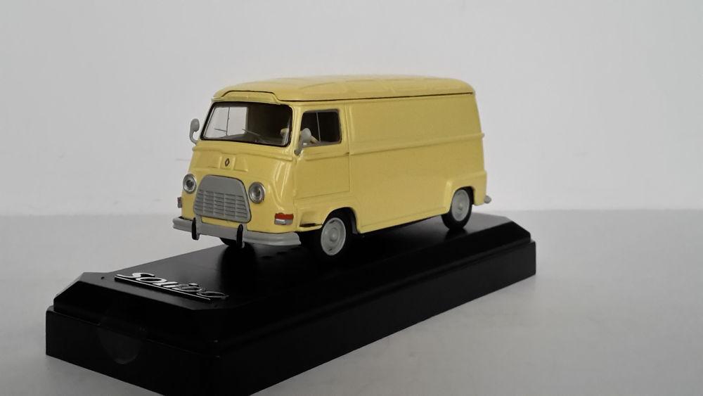 Renault Estafette fourgon 1962 18 Follainville-Dennemont (78)