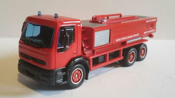 Renault Premium citerne grande capacité pompier 16 Follainville-Dennemont (78)