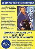 les rendez-vous de l'accordéon 12 Joinville (52)