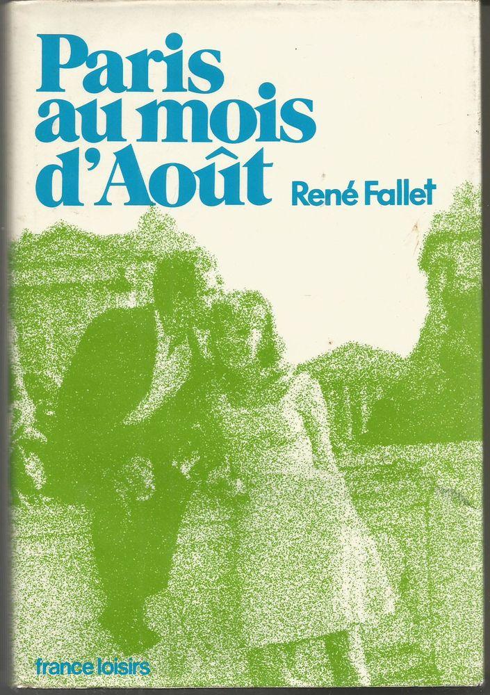 René FALLET Paris au mois d'aout 4 Montauban (82)