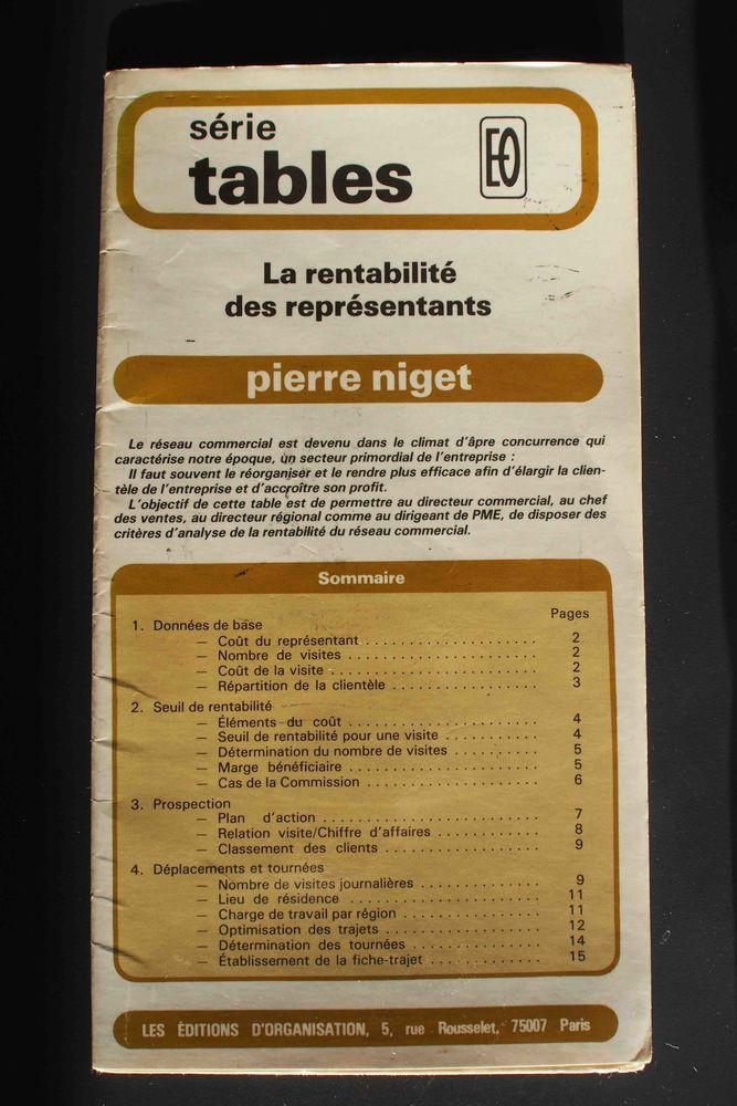 La rentabilité des représentants - Pierre Niget, 5 Rennes (35)