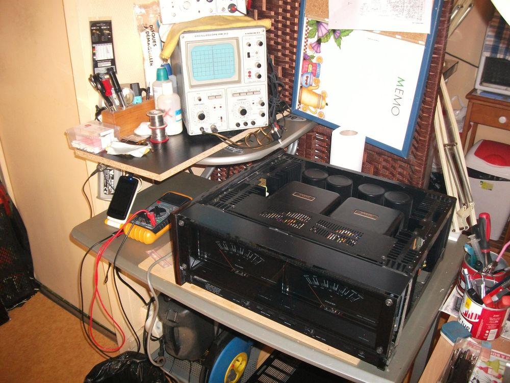 Réparation restauration matériel hifi 1 Pau (64)