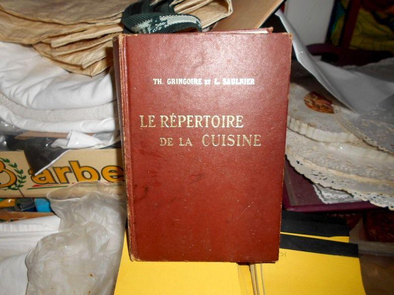 Le Répertoire de la Cuisine Gringoire et Saulnier 10 Monflanquin (47)