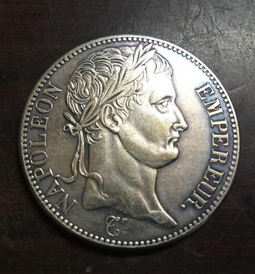 RÉPLIQUE PLAQUE ARGENT - 5 Fr NAPOLÉON EMPEREUR 1811 PRIX