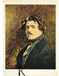 C P M ,Reproduction,Auto-Portrait Delacroix