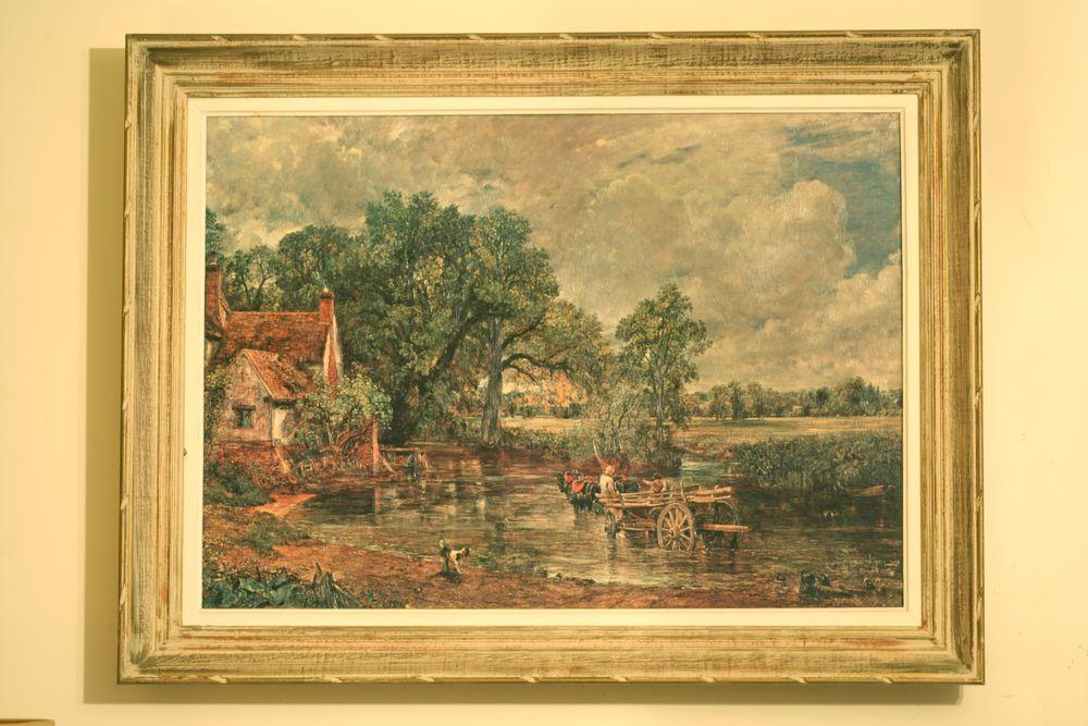 Reproduction   La Charrette de foin   de John Constable. 150 Issy-les-Moulineaux (92)