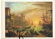 C P M ,Reproduction,Claude Gelée dit le Lorrain vue du port