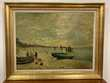 Reproduction Claude Monet ? Tableau ' La plage de Sainte Adr