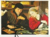 C P M ,Reproduction , Marinus Van Roemerswaellen , le Collec 3 Tours (37)