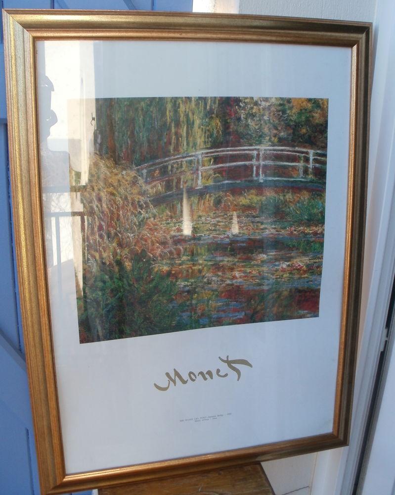 Reproduction Monet : The Water Lily Pond dans cadre doré 40 Montauban (82)