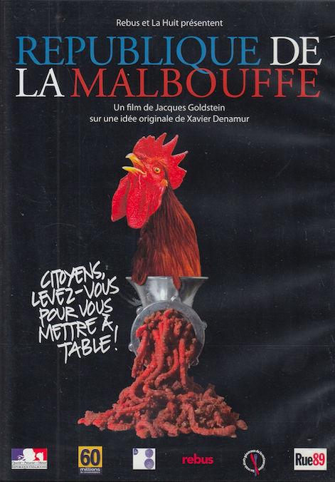 DVD  République de la Malbouffe  - Film de Jacques Goldstein 3 Bagnolet (93)