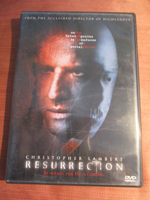 dvd resurrection avec christophe lambert  8 Lyon 3 (69)
