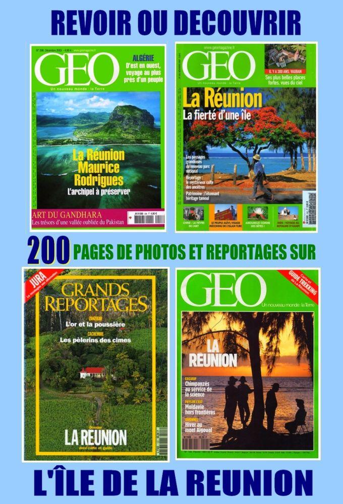 LA RÉUNION - géo - OCÉAN INDIEN / prixporcompris 16 Lille (59)