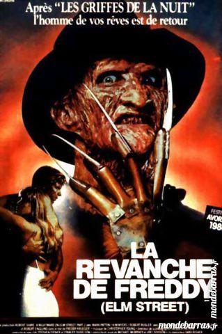 K7 vhs: La Revanche de Freddy (243) 6 Saint-Quentin (02)