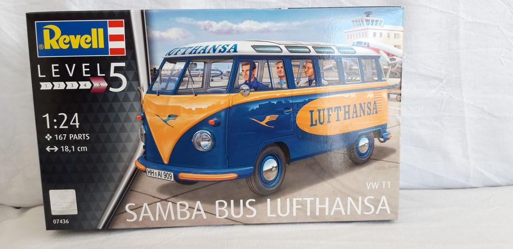 Revell VW Samba Bus 1/24 45 Pignan (34)