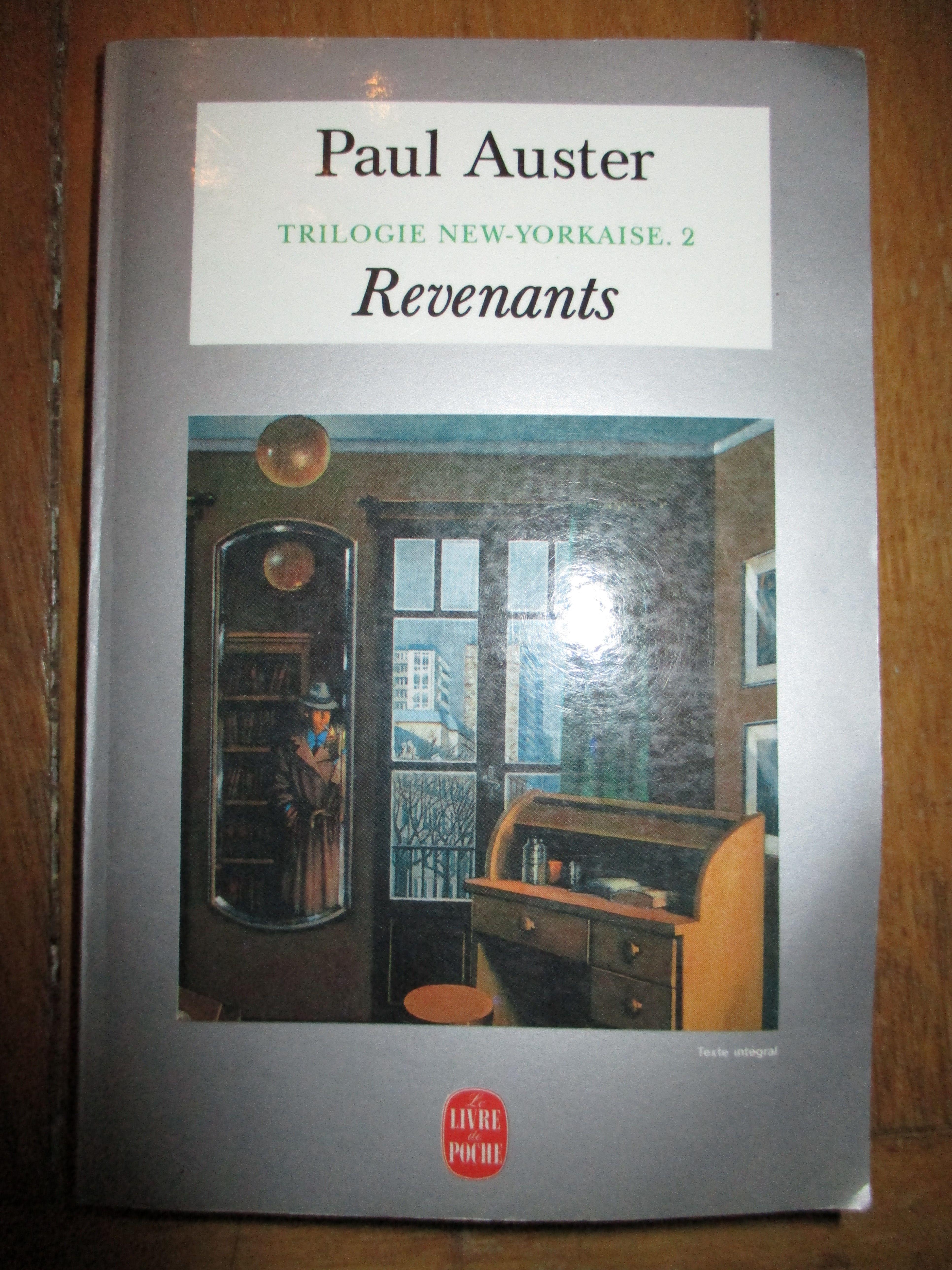 Revenants par Paul Auster 1 Sathonay-Village (69)