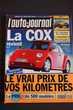 La Cox revient - L'AUTO JOURNAL N° 481,
